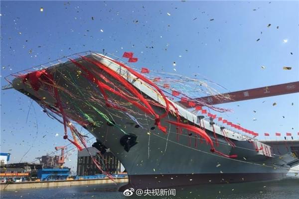 中国首艘国产航母正式