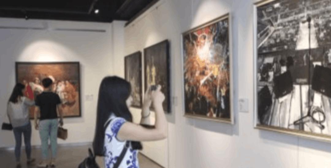 东北师范大学美术学院首次面向公众举办毕业作品展