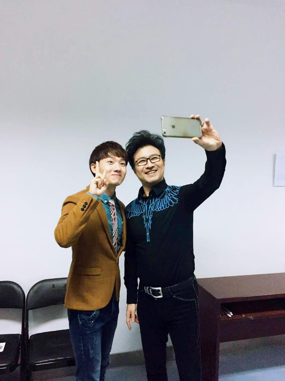 专访《中国新歌声》蒋敦豪从艺点滴