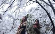 2017年广东第一场雪!