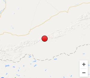 新疆和田地区民丰县发生3.1级地震