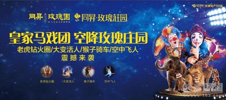 同昇·玫瑰庄园|皇家马戏团欢乐开场 火爆全城!!!