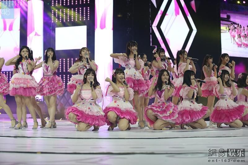 SNH48 GROUP总决选预热场 四团成员为梦想誓师