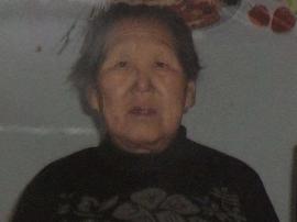 寻找5号在梅园小区附近走失80岁老太王国娟