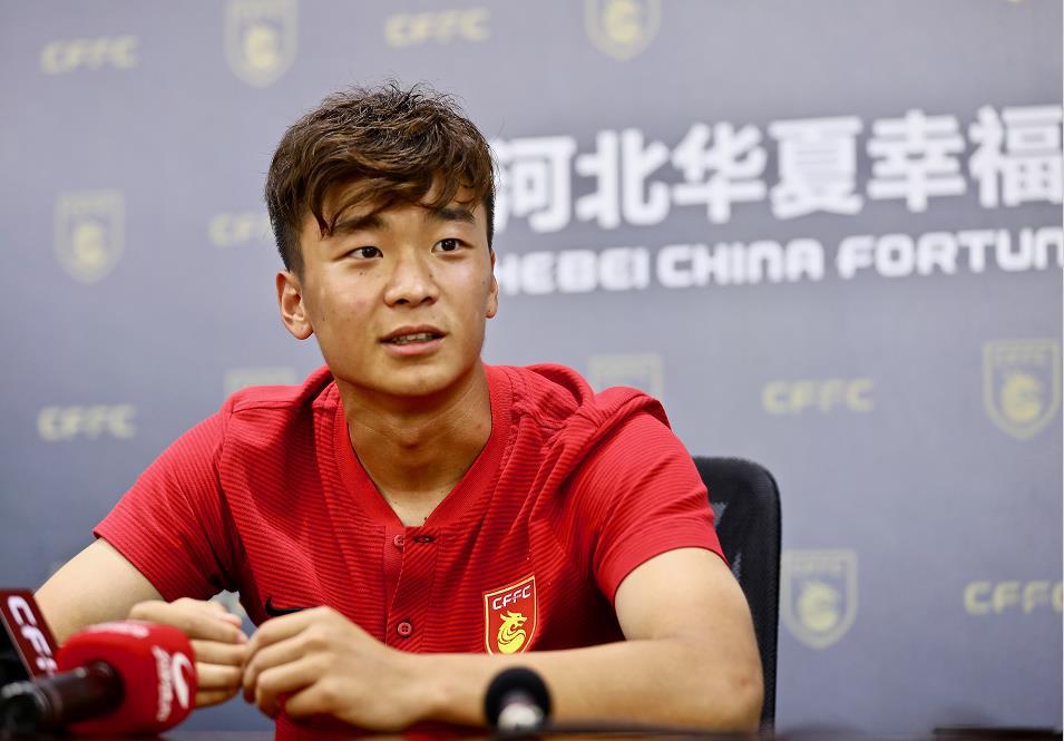 华夏小将:看到黄紫昌进球有压力 回国因竞争太大