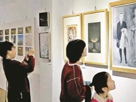 九三学社运城书画院 举办主题书画展