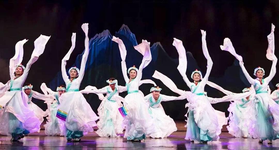 原生态民俗风情歌舞诗《雅鲁藏布》
