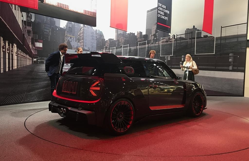 这就是一辆赛车 MINI JCW GP概念车亮相