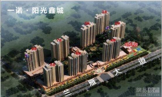 一诺·阳光鑫城116-155㎡三室户型火爆热销中!