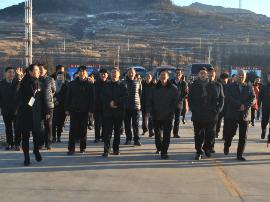 长治县政协视察上党经济开发区及美丽乡村建设