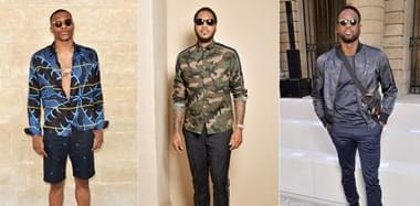 NBA球星参加巴黎时装周 维斯韦德谁最潮?
