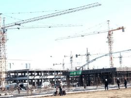 """白城市75个重点项目建设上演""""加速度"""""""