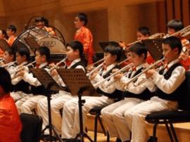 """太原沙河街小学管乐团与国际音乐大师""""对话"""""""