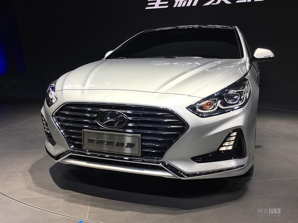 2017上海车展:现代新款索纳塔9正式亮相