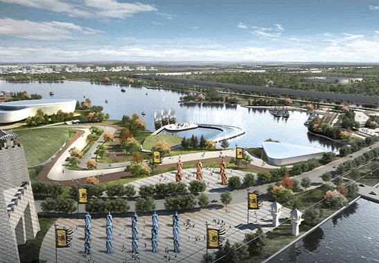 中法生态低碳城落户荆州 初步完成概念规划设计