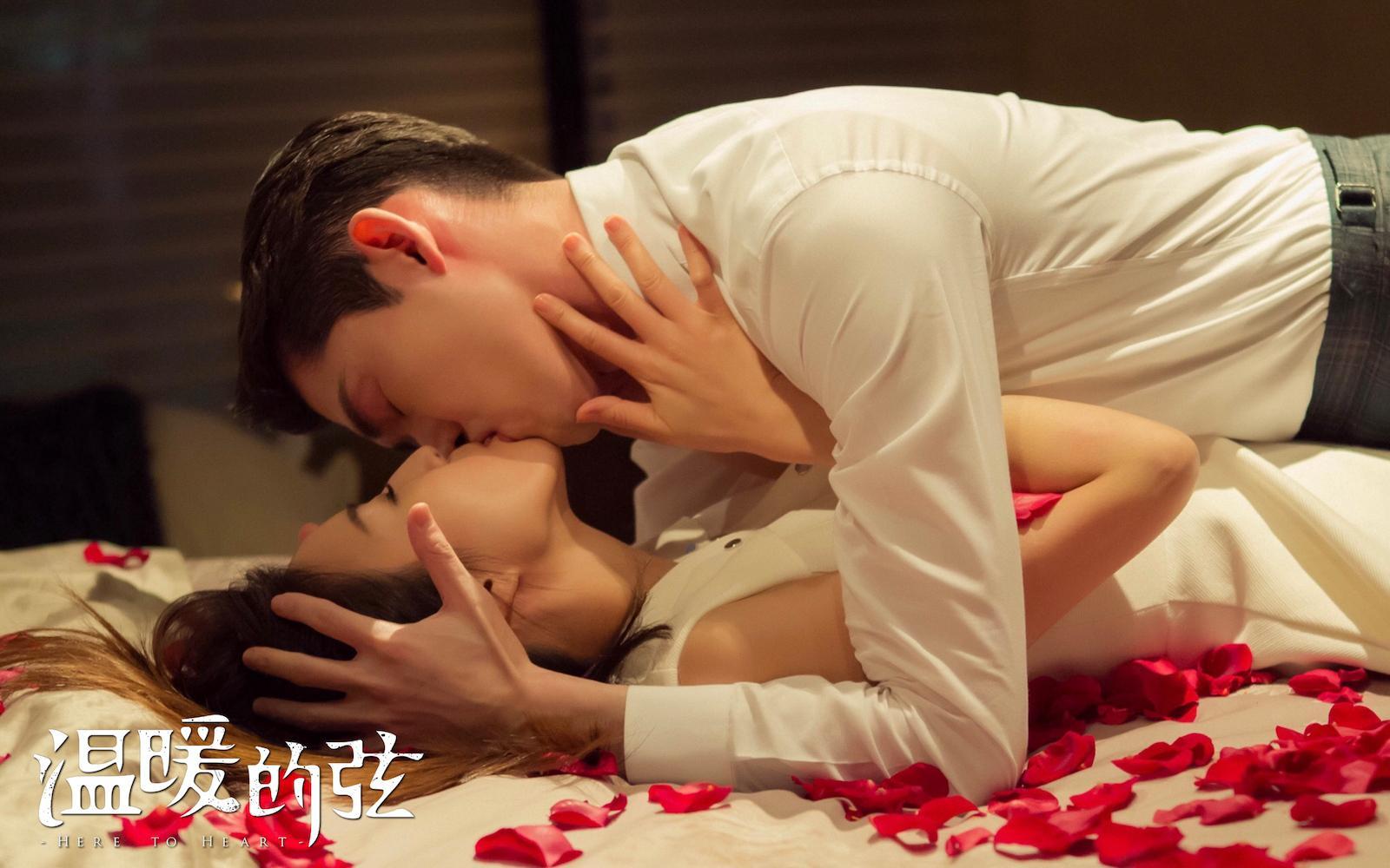 02张翰张钧甯 深情拥吻