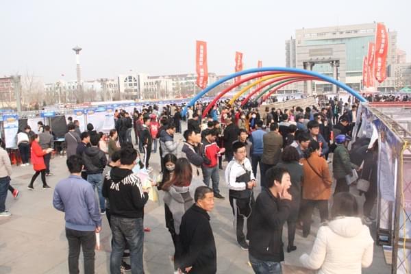 """中捷2017大型""""双创""""招聘会提供岗位近2500个"""