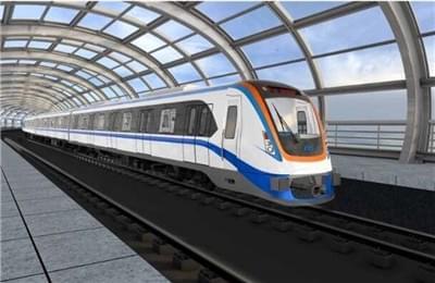乌鲁木齐地铁1号线首列样车完成落车