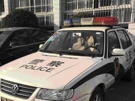 """长春市地税稽查二局为执法车辆""""亮明身份"""""""
