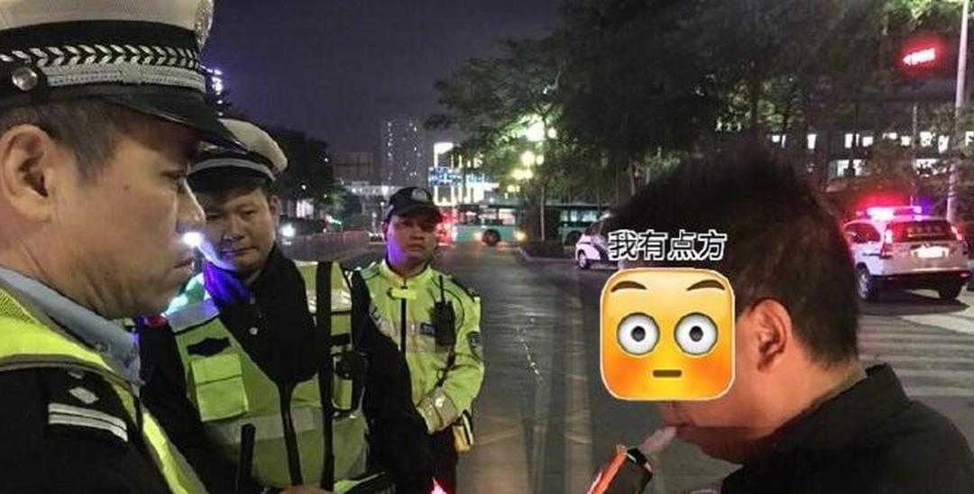 酒驾还想去唱K?深圳交警猎虎抓个正着!