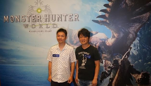 中文化确认 《怪物猎人世界》制作人专访&实机演示