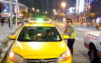 福州火车站窗口出租车经营环境联合整治初见成效