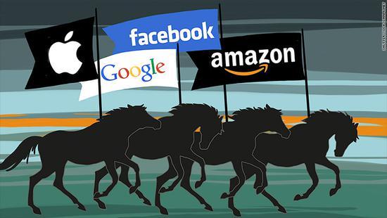 周一美股有多惨,五大科技巨头市值没了1300亿美元