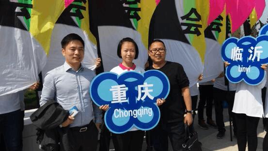 仙女山风筝队亮相潍坊国际风筝会