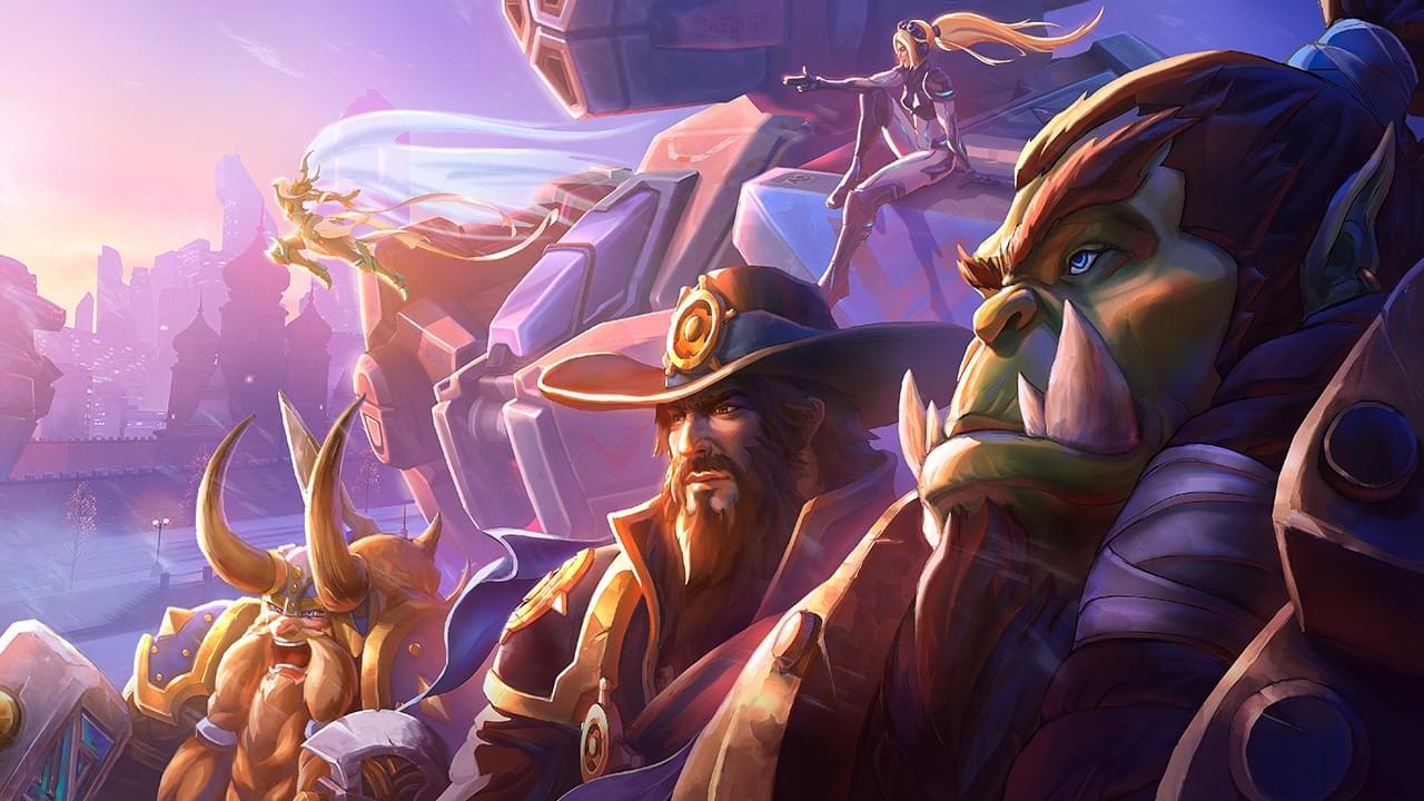风暴英雄新OW主题战场公布 狂鼠与安娜加入战场