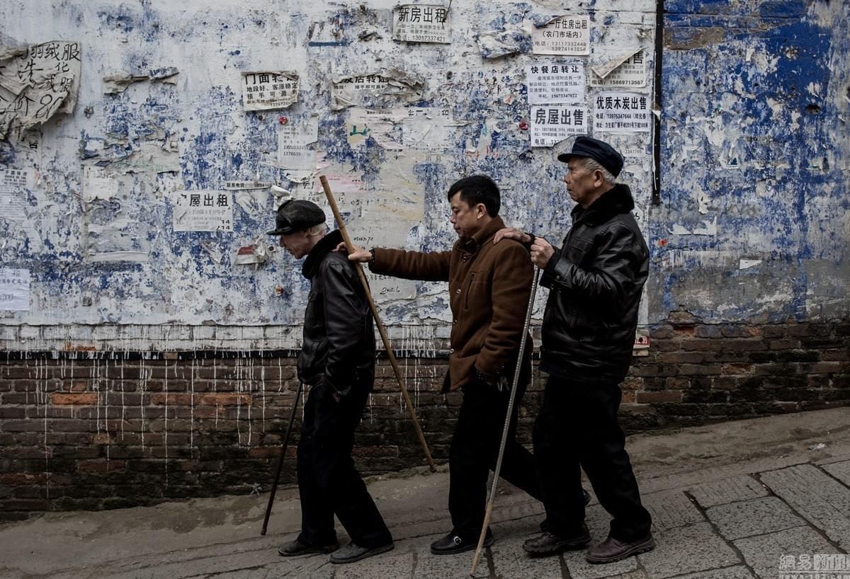 """探访湖南盲人""""算命一条街"""""""