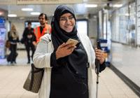 联合国将推谷歌资助的盲人音频引导项目Wayfindr