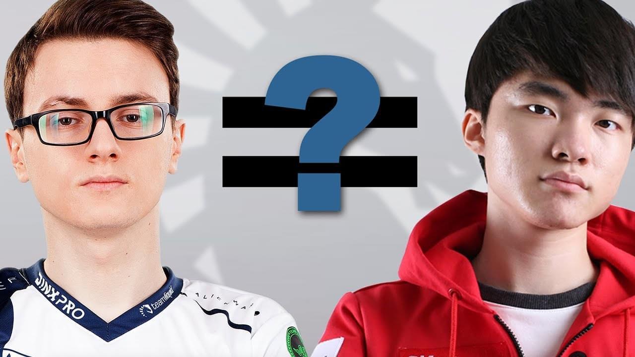 Ti7冠军Liquid战队采访:你知道Faker是谁吗?