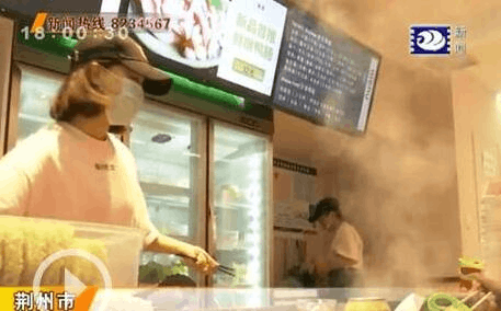 市食药部门助力餐饮与企业对接 保障麻辣烫店整洁