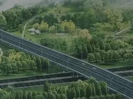 市区与新塍只用7分钟 东升西路桥梁板架设完成