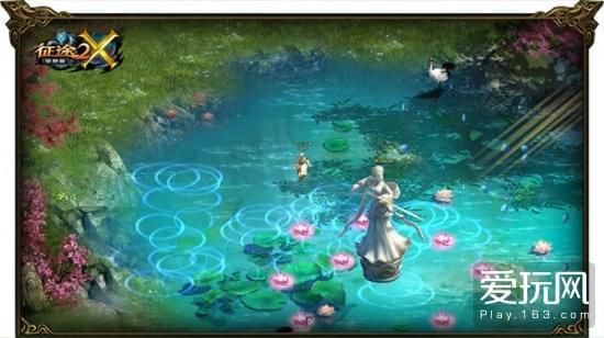 《征途2X》全新地图曝光 唯美武侠世界