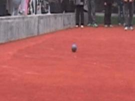 晋中市党政系统老年体协举办地掷球邀请赛