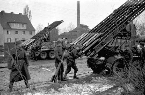 二战中奋勇作战的苏联红军
