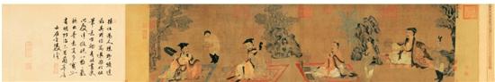 宫廷御用画家孙位《高逸图》的人物解读