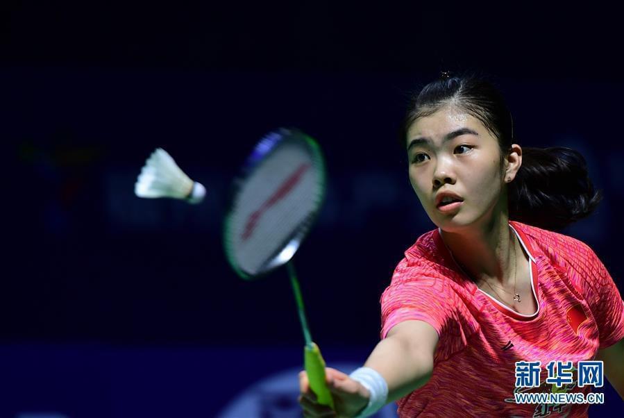 韩国赛国羽女单小将爆冷胜韩一姐 确保决赛席位