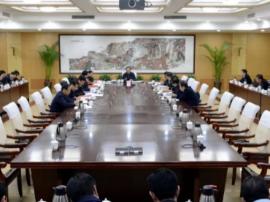 运城市委书记刘志宏主持召开市委常委会议