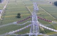 锡盟—泰州±800千伏特高压工程江苏段竣工