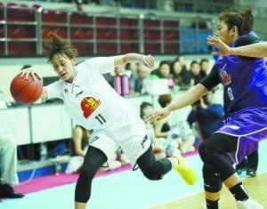 首钢女篮展现强者气质 欲冲击队史第3座冠军奖杯