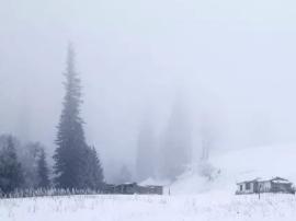 新源的冬 静谧迷人