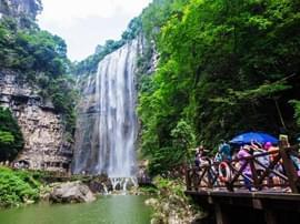 三峡大瀑布景区通过国家5A景观质量评审
