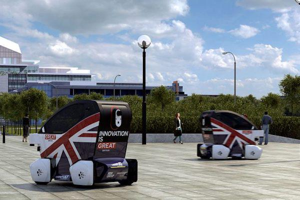 推动立法 英国无人驾驶汽车有望2021年上路