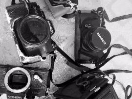 """75岁老人痴迷相机半个世纪  成小区""""相机老师"""""""