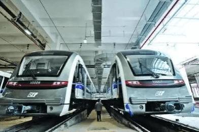 轻轨10号线年底通车 鲁能城三期商铺迎交通利好
