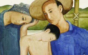 庞薰琹的《地之子》 画家曾因这幅画受到恐吓
