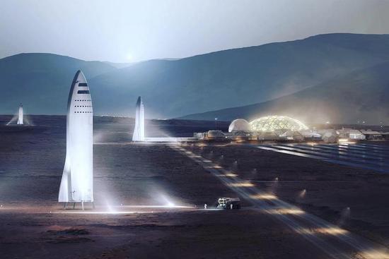 马斯克:我们早就应该建好月球基地 然后登陆火星