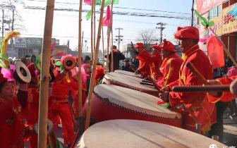 铿锵鼓乐迎新春 乐亭胡家坨镇举办第七届锣鼓比赛